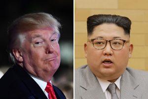 D. Trumpas Kim Jong Unui: mano branduolinis mygtukas didesnis