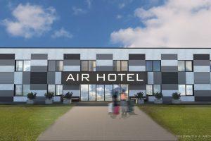 """Prie Kauno oro uosto pradedamos viešbučio """"Airhotel"""" statybos"""