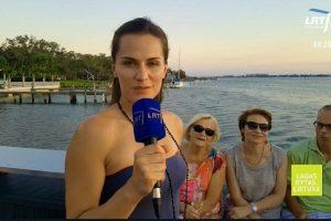 J. Šeduikytės kalbinti lietuviai Floridoje: mūsiškiai čia jaučiasi daug patogiau
