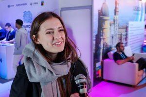 """I. Zasimauskaitė surengė virtualų turą po """"Eurovizijos"""" užkulisius"""