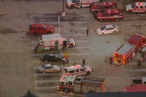 Hjustone parduotuvių rajone šaudęs vyras negyvas, sužeisti 9 žmonės