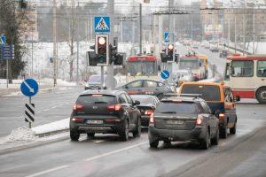 Viena judriausių Vilniaus sankryžų taps saugesnė