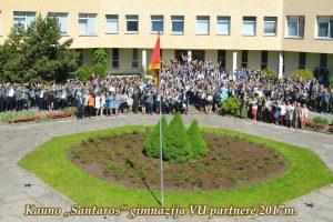 """Santaros"" gimnazija: auginame lyderius"