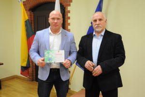 Lietuvos sunkiaatlečiams toliau vadovaus B. Vyšniauskas