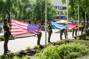 Vilniuje – Baltijos šalių padėkos JAV šventė
