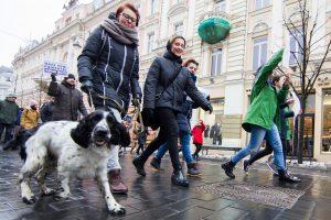 Vilniuje vyko eitynės prieš smurtą