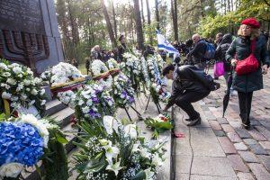 Panerių memoriale pagerbtos Lietuvos žydų genocido aukos