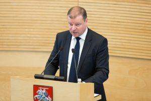 Seime pristatyta Vyriausybės veiklos ataskaita