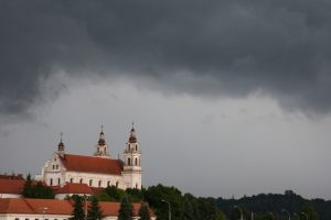 Lietus tvindo namus: kritiškiausia padėtis – Vilniuje ir uostamiestyje