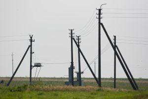 Dėl kompensacijų už elektros stulpus gauta 1,7 tūkst. prašymų