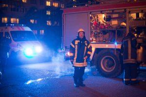Į baldų įmonę nuskubėjo šešios ugniagesių mašinos
