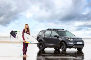 """Jaguar Land Rover"" automobilių maketai taps banglentėmis"