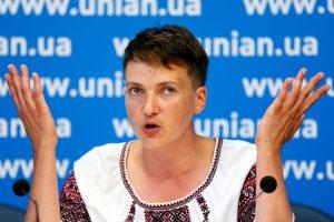 Netikėtas N. Savčenko pareiškimas