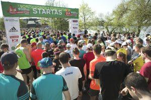 Trakų pusmaratonyje laukiama rekordinio skaičiaus bėgančių vaikų