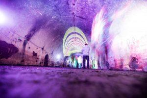 Požeminiuose tuneliuose – kūrybinės garso dirbtuvės