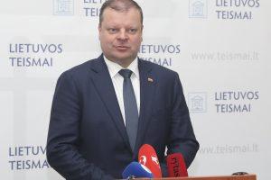 Premjeras: Vilniaus apygardos teismas veikia apgailėtinomis sąlygomis