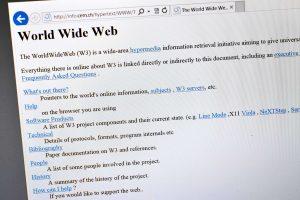 Interneto sukūrimo metinės: svarbiausios datos