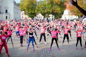Kauno senamiestį nuspalvins rožiniai bėgikai