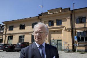 Nobelio centro projektui – Švedijos karaliaus kritika