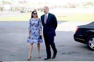 Azerbaidžano lyderis žmoną paskyrė pirmąja viceprezidente