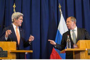 J. Kerry ir S. Lavrovas susitarė pratęsti paliaubas Sirijoje
