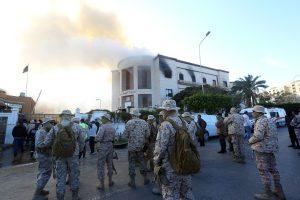 """Atsakomybę už kruviną išpuolį Libijoje prisiėmė """"Islamo valstybė"""""""