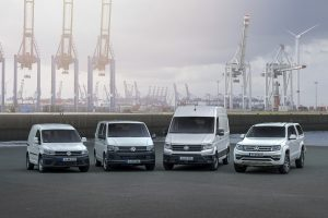 """Pernai """"Volkswagen"""" pardavė 11 proc. daugiau komercinių automobilių"""