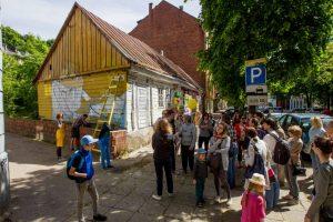 V. Putvinskio gatvės šventė subūrė gyventojus, turistus ir praeivius