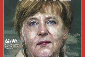 """Žurnalas """"Time"""" 2015 metų žmogumi išrinko A. Merkel"""
