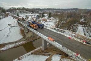 Rekonstrukcija baigta: Kaune atidarytas tiltas per Jiesios upę
