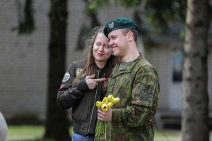 Klaipėdoje – Dragūnų bataliono šauktinių išlydėtuvės į atsargą