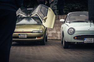 Japoniškų automobilių gerbėjų susitikime – itin reti modeliai