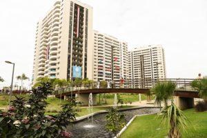 Rio de Žaneiro olimpinis kaimelis gražėja, olimpiečius džiugina dovanos