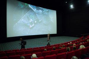 """Pristatytas festivaliuose įvertintas G. Beinoriūtės filmas """"Kvėpavimas į marmurą"""""""
