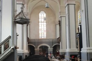 Šv. Jurgio bažnyčia Kaune pasitiks popiežių atsinaujinusi