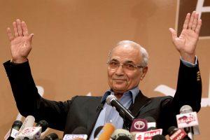 Buvęs Egipto premjeras A. Shafiqas dalyvaus 2018 metų prezidento rinkimuose