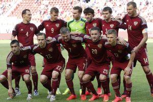 Kukli Rusijos futbolo rinktinės pergalė kontroliniame mače