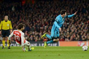 """Čempionų lyga: """"Barcelona"""" ekipai pergalę lėmė L. Messi įvarčiai"""