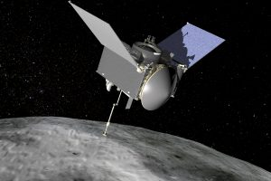 NASA asteroidus tiriantis erdvėlaivis skrieja pro Žemę pakeliui į asteroidą