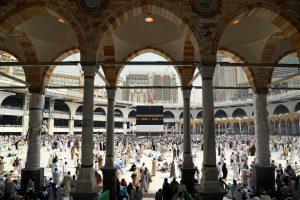 Musulmonai renkasi į Meką hadžui