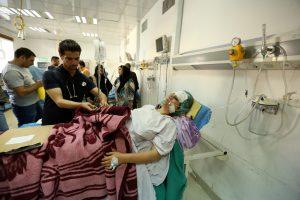 IS prisiėmė atsakomybę dėl sprogdinimo Bagdade, pareikalavusio mažiausiai 35 gyvybių