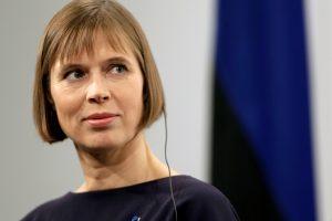 Estijos prezidentė kritikuoja rasistines pastabas reiškusius politikus