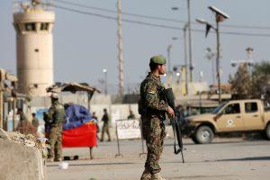 Identifikuoti Afganistane per išpuolį šeštadienį žuvę du amerikiečių kariai