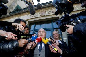 S. Blatteris pralaimėjo paskutinę kovą dėl draudimo dalyvauti futbolo veikloje