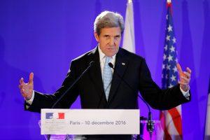 J. Kerry: Sirijos režimas vykdo nusikaltimus žmoniškumui