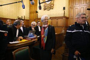 TVF vadovė teisme sako gynusi Prancūzijos interesus