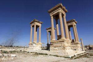 UNESCO: Palmyros senovinio paveldo naikinimas yra karo nusikaltimas