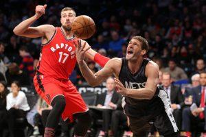 NBA: J. Valančiūnas sužaidė rezultatyviausias rungtynes 2017-aisiais