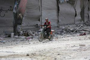 Rusija ir Kinija vetavo JT rezoliuciją dėl sankcijų Sirijai