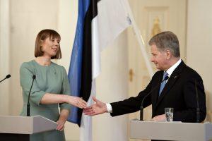 Suomijos prezidentas: NATO ir Rusijos požiūriai kai kur sutampa